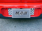 BMW MINI F54 バックナンバーガーニッシュ (チェッカー) 2pcs ミニ クラブマン 外装パーツ