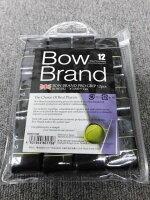 ボウブランドグリップテープ12個パックブラック(BOW012)【ゆうパケットで発送】【郵便ポスト投函故に、代引不可です】【こちらは、なんば店商品です】