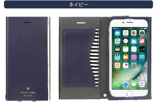 【予約販売】【2017年4月20日入荷予定】PremiumStyleiPhone7/6s/6用オールPUレザーフリップカバーforgirls