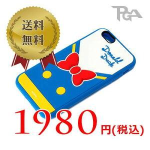 ■メール便OKPGA iPhone 6用 ソフトシリコンケース ドナルドダック PG-DCS902DND