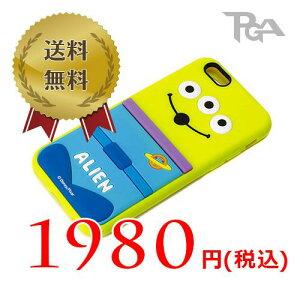 ■メール便OKPGA iPhone 6用 ソフトシリコンケース エイリアン PG-DCS904LGM