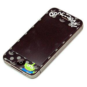 【トイストーリー】PGA iPhone4S/4 Disney 気泡が入らない液晶保護フィルム