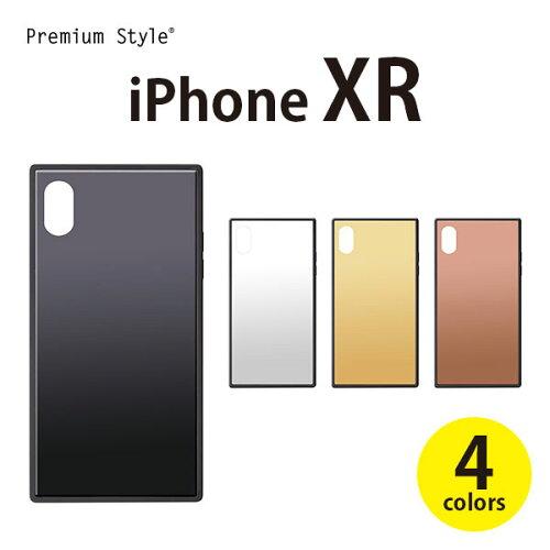 iPhoneXR ガラスハイブリッドケース