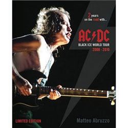AC/DC エーシーディーシー - Black Ice World Tour 2008-2010 / 写真集
