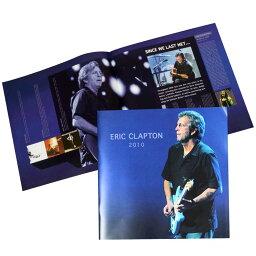 ERIC CLAPTON エリッククラプトン (CREAM結成55周年記念 ) - コンサート会場限定商品 2010 North American ツアー・プログラム / パンフレット