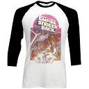 STAR WARS スターウォーズ THE EMPIRE STRIKES BACK MONTAGE ラグラン / 長袖 / Tシャツ / メンズ 【公式 / オフィシャル】