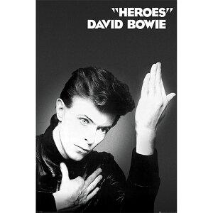 DAVID BOWIE デヴィッド・ボウイ (追悼5周年 ) - HEROES / ポスター 【公式 / オフィシャル】