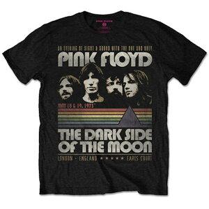 PINK FLOYD ピンクフロイド (結成55周年記念 ) - The Dark Side of the Moon Tour / Tシャツ / メンズ 【公式 / オフィシャル】