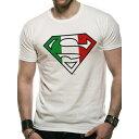 SUPERMAN スーパーマン ITALIAN FLAG / Tシャツ / メンズ 【公式 / オフィシャル】