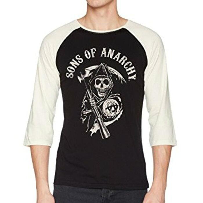 SONS OF ANARCHY サンオブアナーキー - LOGO / ラグラン七分袖 / Tシャツ / メンズ 【公式 / オフィシャル】