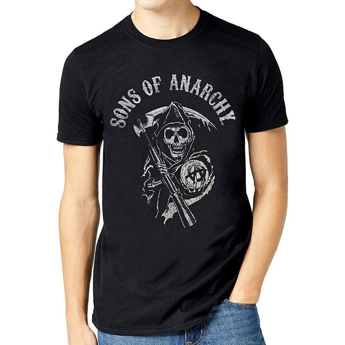 SONS OF ANARCHY サンオブアナーキー - MAIN LOGO / Tシャツ / メンズ 【公式 / オフィシャル】