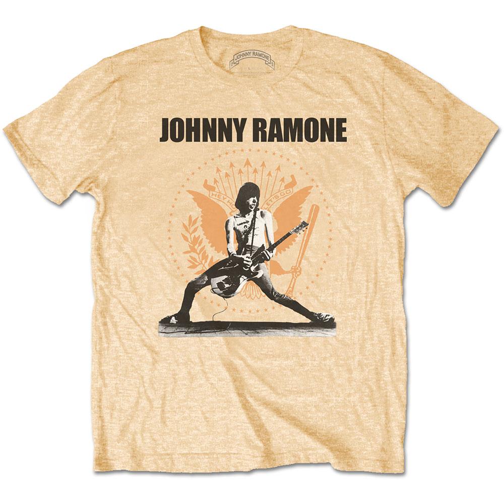 RAMONES ラモーンズ (来日40周年記念 ) - JOHNNY RAMONE ROCKIN N SEAL / Tシャツ / メンズ 【公式 / オフィシャル】