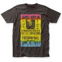 JANIS JOPLIN ジャニスジョプリン (WOODSTOCK 50周年記念 ) - FREEDOM HALL / Tシャツ / メンズ 【公式 / オフィシャル】