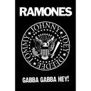 RAMONES ラモーンズ (来日40周年記念 ) - Logo / ポスター 【公式 / オフィシャル】