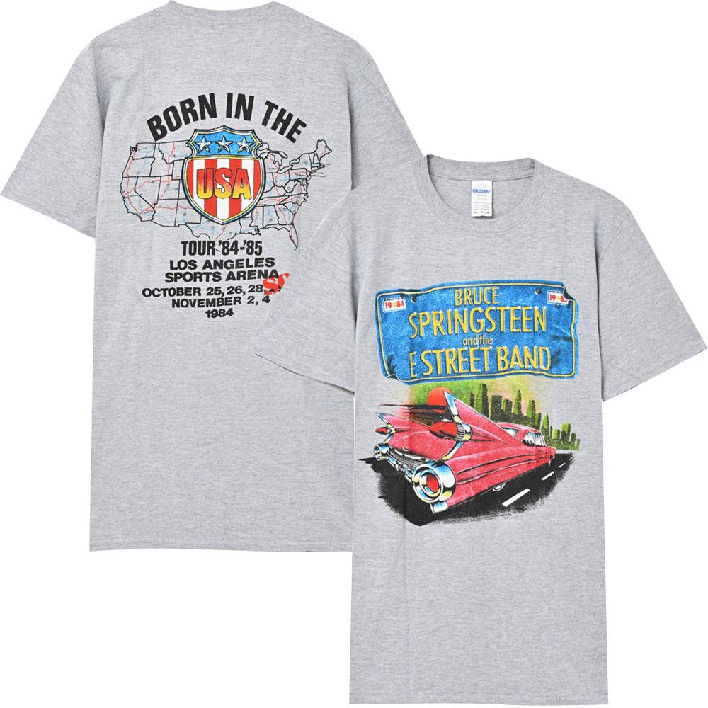 トップス, Tシャツ・カットソー BRUCE SPRINGSTEEN ( ) - BORN IN THE TOUR 1984 T