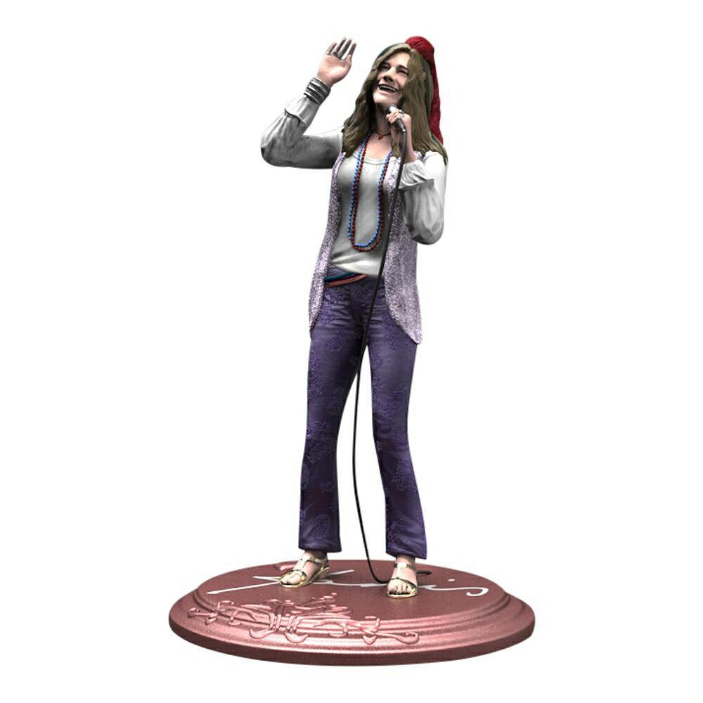 コレクション, フィギュア JANIS JOPLIN - Rock Iconz Statue 3000