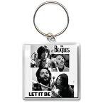 BEATLES ビートルズ (Abbey Road 50周年記念 ) - LET IT BE SESSIONS / キーホルダー 【公式 / オフィシャル】