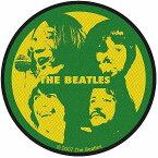 BEATLES ビートルズ (Abbey Road 50周年記念 ) - LET IT BE / ワッペン 【公式 / オフィシャル】