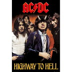 AC/DC エーシーディーシー (Angus Young生誕65周年 ) - Highway To Hell / ポスター 【公式 / オフィシャル】