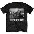BEATLES ビートルズ (Abbey Road 50周年記念 ) - Let It Be Studio / Tシャツ / メンズ 【公式 / オフィシャル】