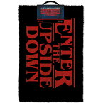 STRANGER THINGS ストレンジャー・シングス - Enter The Upside Down / ドアマット / インテリア置物 【公式 / オフィシャル】