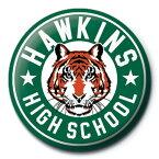 STRANGER THINGS ストレンジャー・シングス - Hawkins High School / バッジ 【公式 / オフィシャル】
