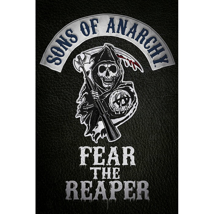 SONS OF ANARCHY サンオブアナーキー - Fear the Reaper / ポスター 【公式 / オフィシャル】