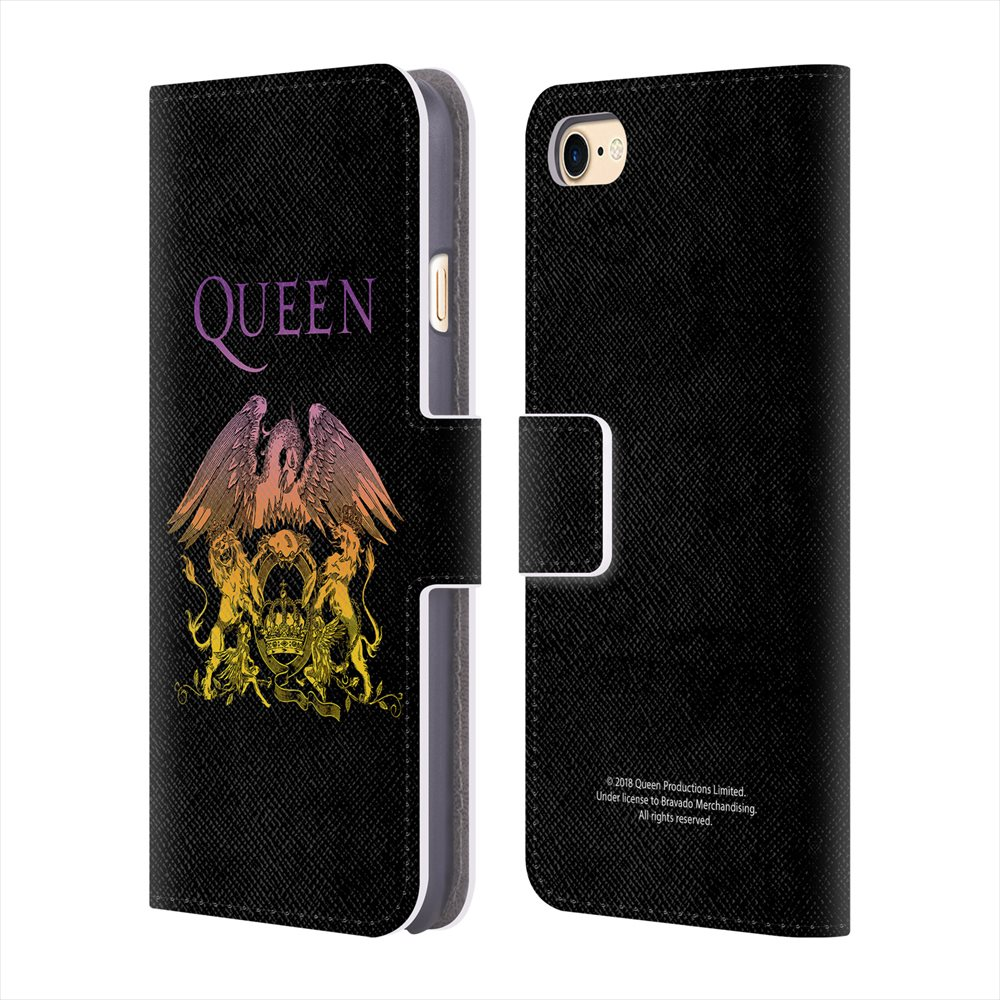 スマートフォン・携帯電話アクセサリー, ケース・カバー QUEEN (50 ) - Logo Crest iPhone