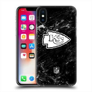 KANSAS CITY CHIEFS(NFL) カンザスシティチーフス - Marble ハード case / iPhoneケース 【公式 / オフィシャル】