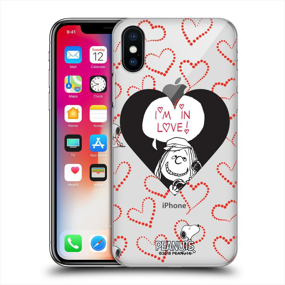 PEANUTS スヌーピー - Peppermint Patty In Love 【ソフトcase】 / iPhoneケース 【公式 / オフィシャル】