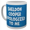 THE BIG BANG THEORY ビッグバンセオリー - Sheldon Cooper Apologized / マグカップ 【公式 / オフィシャル】