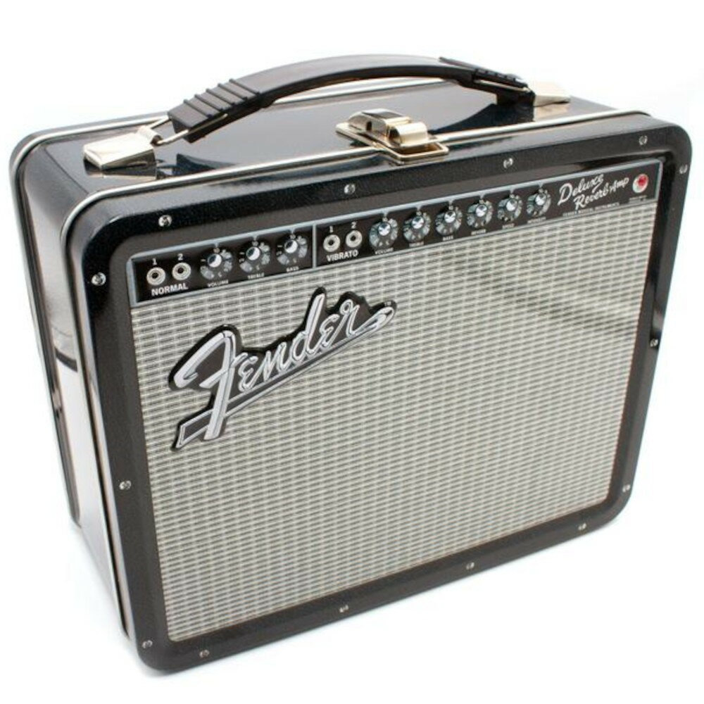 メンズバッグ, その他 FENDER (75th Anniversary ) - AMP Tin Tote