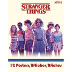 STRANGER THINGS ストレンジャー・シングス - Poster Book(12枚) / ポスター 【公式 / オフィシャル】