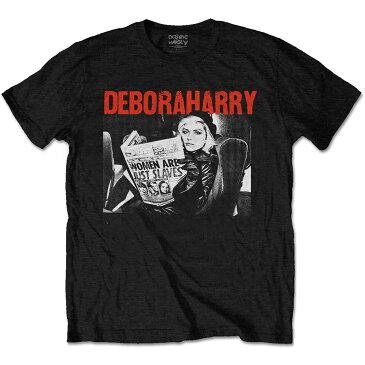 BLONDIE ブロンディー - Debbie Harry Women Are Just Slaves / Tシャツ / メンズ 【公式 / オフィシャル】