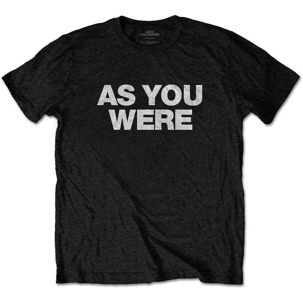 トップス, Tシャツ・カットソー LIAM GALLAGHER (AS IT WAS ) - AS YOU WERE T