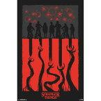 STRANGER THINGS ストレンジャー・シングス - 3 / 4th Illustration / ポスター 【公式 / オフィシャル】