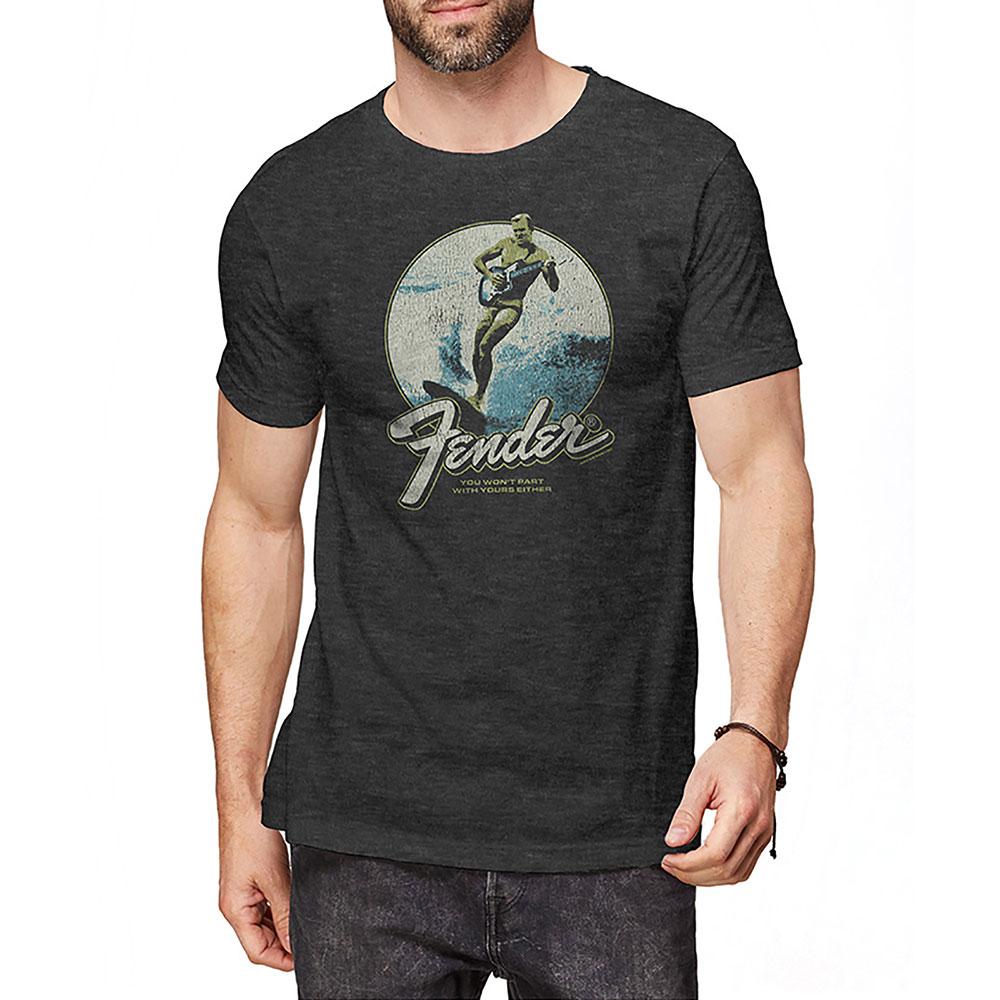 トップス, Tシャツ・カットソー FENDER (75th Anniversary ) - Surfer T