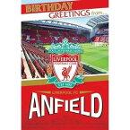 LIVERPOOL FOOTBALL CLUB リヴァプールFC - Liverpool Anfield Stadium Pop Up Card / ホビー雑貨 【公式 / オフィシャル】