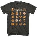 MONSTER HUNTER モンスターハンター - MH / Tシャツ / メ...