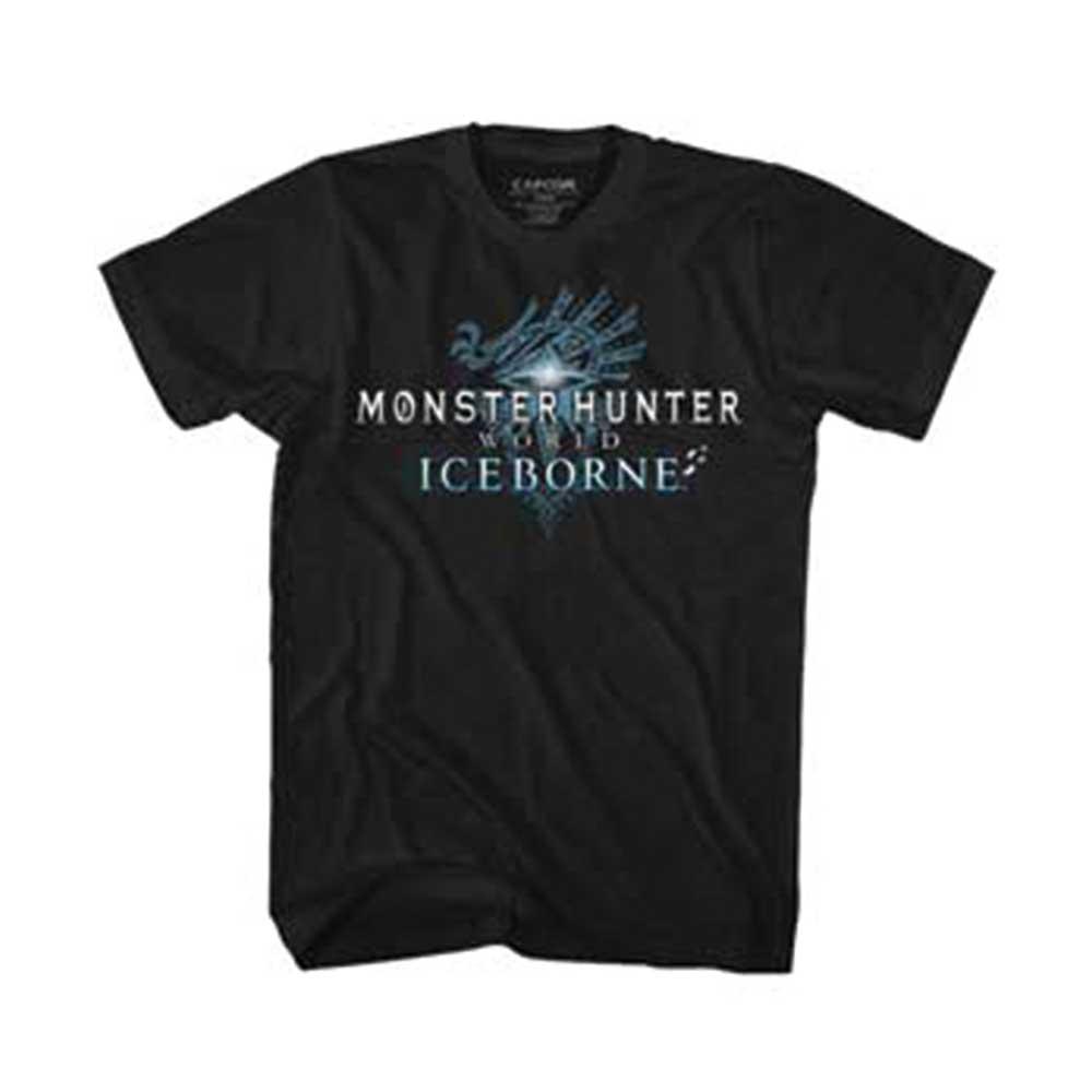 トップス, Tシャツ・カットソー MONSTER HUNTER ( ) - ICEBORN LOGO MENS T