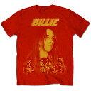 BILLIE EILISH ビリアイリッシュ 映画公開記念   Racer Logo Jumbo  Tシャツ  メンズ 公式  オフィシャル