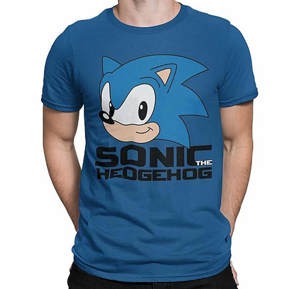 トップス, Tシャツ・カットソー SONIC THE HEDGEHOG (30 ) - CLASSIC HEAD T