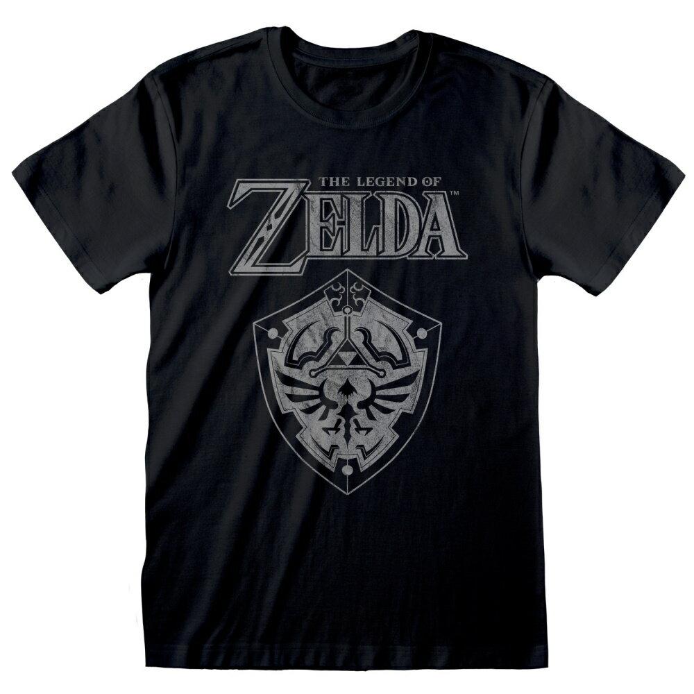 トップス, Tシャツ・カットソー THE LEGEND OF ZELDA (35 ) - Distressed Shield T