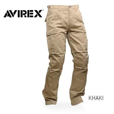 AVIREX 6166110 ファティーグパンツ 【アヴィレックス・アビレックス fatigue pants】メンズ ミリタリー カーゴパンツ カジュアルトラウザー コットン100%