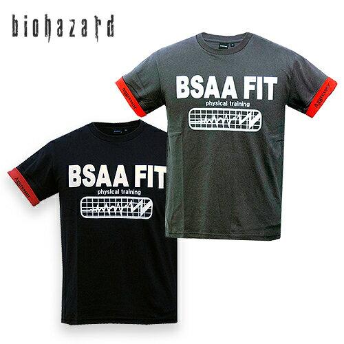 トップス, Tシャツ・カットソー BIOHAZARD BSAA FIT T resident evil CAPCOM