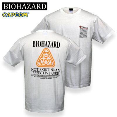 ◆10,000円(税別)以上送料無料◆巨大製薬企業アンブレラのPR Tシャツをリニューアルbiohazard U...