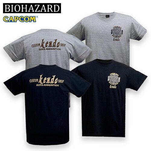 トップス, Tシャツ・カットソー BIOHAZARD Custom Shop Kendo T resident evil CAPCOM S.T.A.R.S