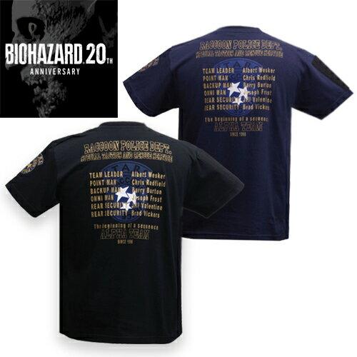 トップス, Tシャツ・カットソー BIOHAZARD STARS ALPHA TEAM ANNIV. T resident evil CAPCOM RPD