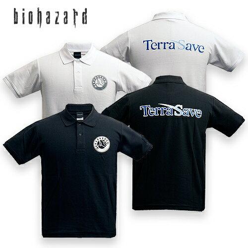 トップス, ポロシャツ BIOHAZARD TERRA SAVE resident evil CAPCOM REVELATIONS2 2