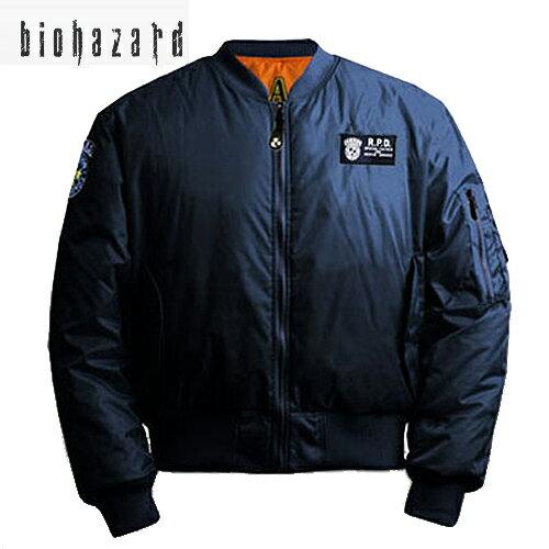 メンズファッション, コート・ジャケット BIOHAZARD S.T.A.R.S. MA-1 resident evil CAPCOM RPD